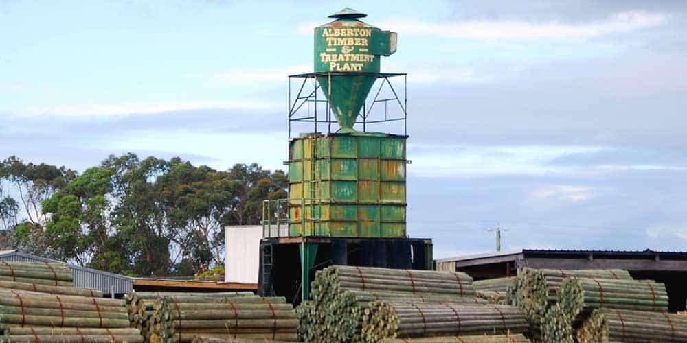 Alberton Timber Tower